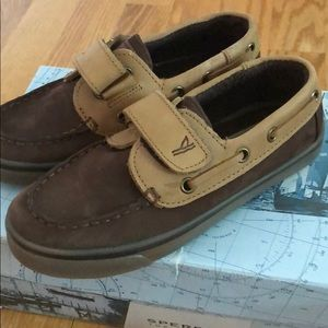 Boys Sperry Top- Sider 11 Wide - Brand New in box